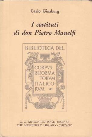 9780875800363: I Costituti Di Don Pietro Manelfi