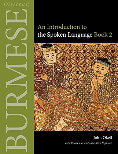 9780875806433: Burmese (Myanmar): An Introduction to the Spoken Language Book 2