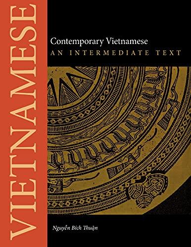 9780875806600: Contemporary Vietnamese: An Intermediate Text