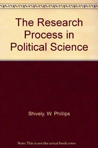 9780875813004: The Research Process in Political Science