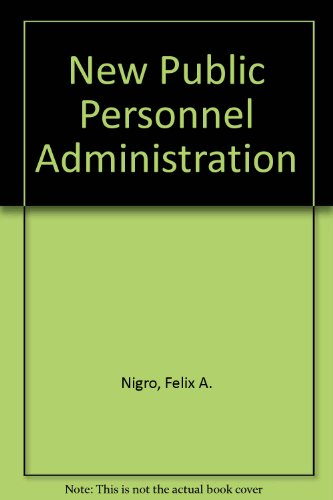 9780875813134: New Public Personnel Administration