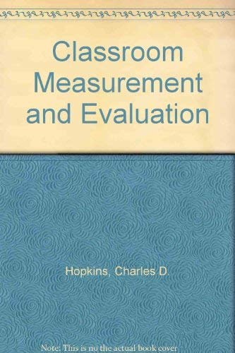 9780875813295: Classroom Measurement and Evaluation