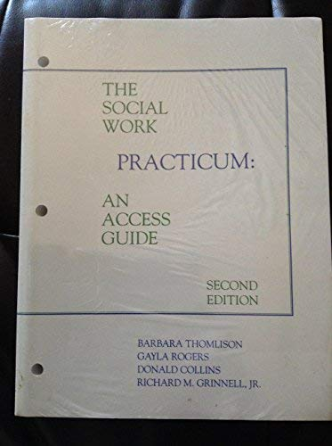 9780875814001: The Social Work Practicum: Access Guide