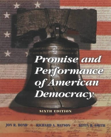 9780875814391: Promise and Performance of American Democracy