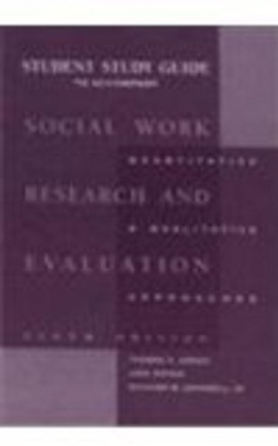 9780875814414: Study Guide for Grinnell's Social Work Research and Evaluation, 6th