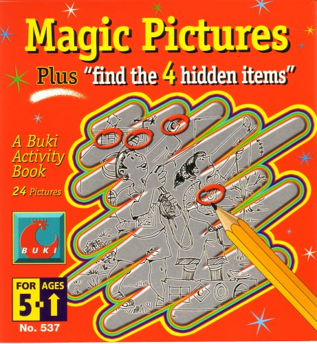 9780875838472: Magic Pictures (A Buki Activity Book, 24 pictures)