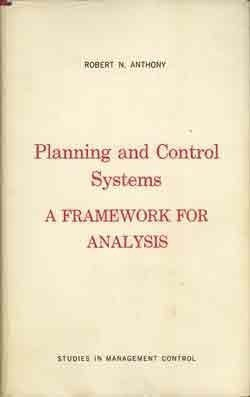 9780875840475: Planning and Control Systems: A Framework for Analysis