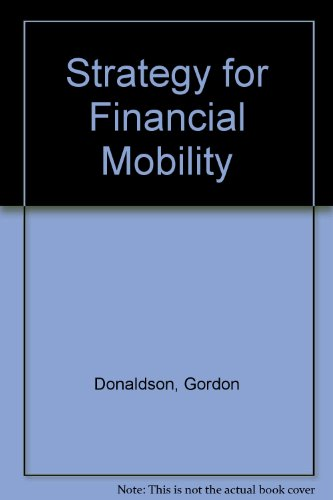 STRATEGY FOR FINANCIAL MOBILITY.
