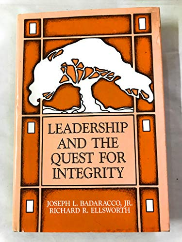 9780875842004: Leadership & Quest for Integrity