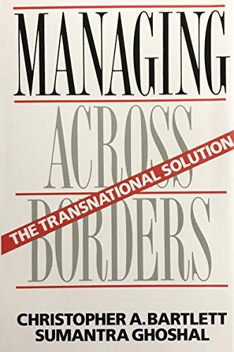 9780875842097: Managing across Borders