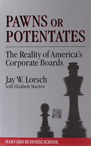9780875842165: Pawns or Potentates: Black and White Women and the Struggle for Professional Identity: Reality of America's Corporate Boards (Cambridge Studies in Philosophy)