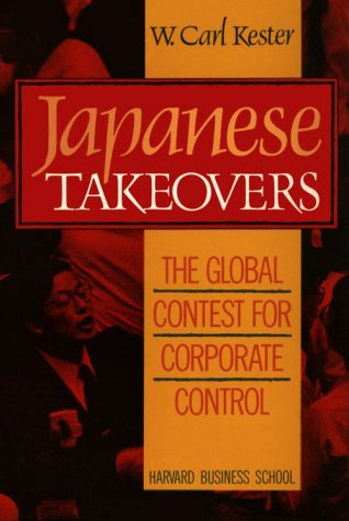 9780875842356: Japanese Takeovers: The Global Contest for Corporate Control