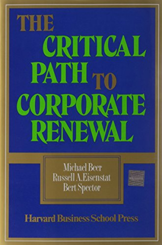 9780875842394: The Critical Path to Corporate Renewal