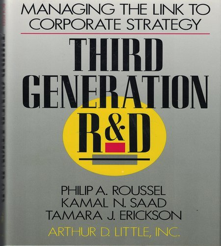9780875842523: Third Generation R & D: Managing the Link to Corporate Strategy