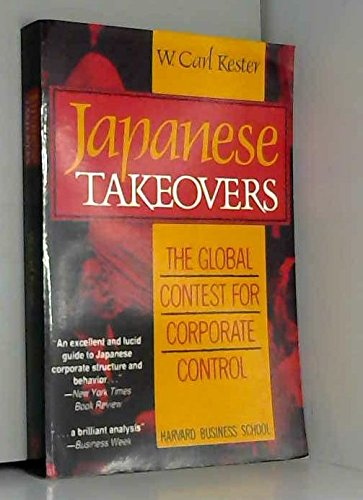 9780875843162: Japanese Takeovers: The Global Contest for Corporate Control