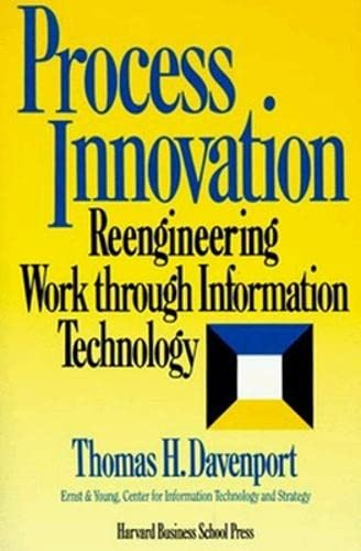 9780875843667: Process Innovation: Reengineering Work Through Information Technology