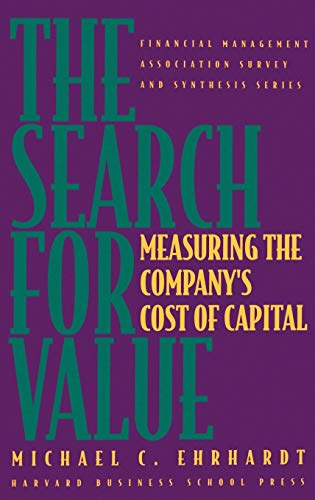 9780875843803: The Search for Value: Measuring the Company's Cost of Capital