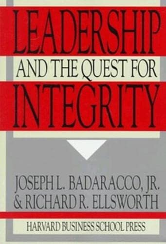 9780875844084: Leadership and the Quest for Integrity