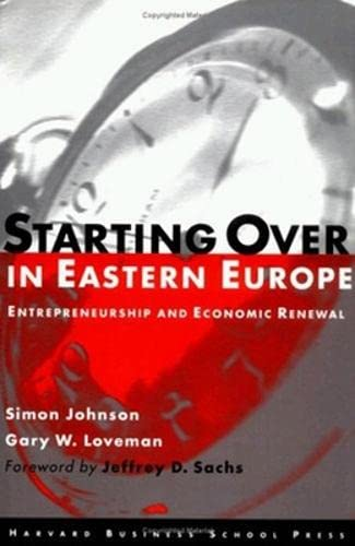 9780875845692: Starting over in Eastern Europe: Entrepreneurship and Economic Renewal