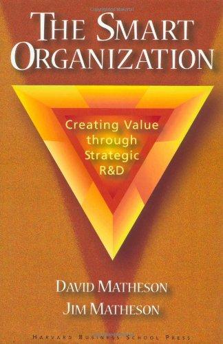 9780875847658: The Smart Organization: Creating Value Through Strategic R&D