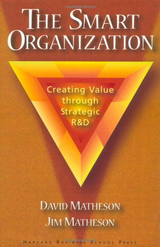 9780875847658: The Smart Organization: Creating Value Through Strategic R&D