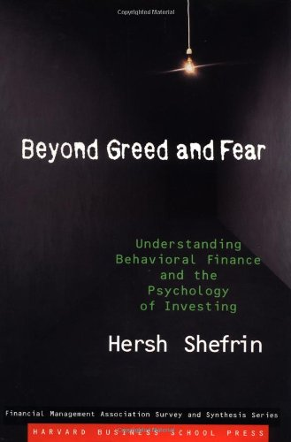 9780875848723: Beyond Greed and Fear: Finance and the Psychology of Investing