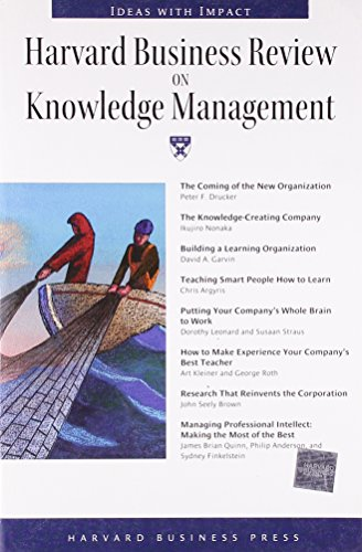 9780875848815: Harvard Business Review on Knowledge Management