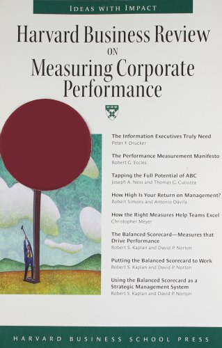 9780875848822: Harvard Business Review on Measuring Corporate Performance (Harvard Business Review Paperback Series)