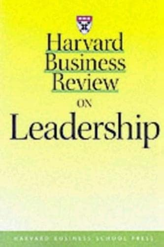 9780875848839: Harvard Business Review on Leadership (Harvard Business Review Paperback Series)