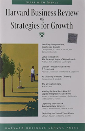 9780875848853: Harvard Business Review on Strategies for Growth: The Definitive Resource for Professionals (