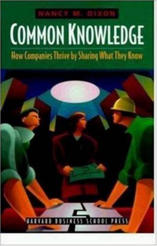9780875849041: Common Knowledge: How Companies Thrive by Sharing What They Know