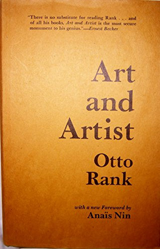 9780875860107: Art and Artist: Creative Urge and Personality Development