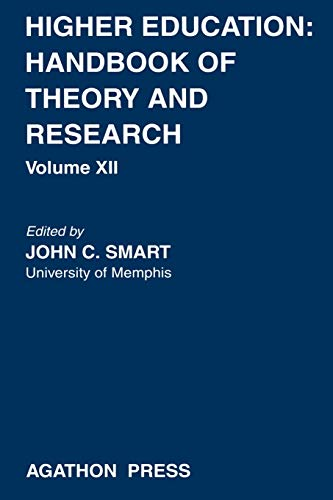 9780875861180: Higher Education: Handbook of Theory and Research, Volume XII
