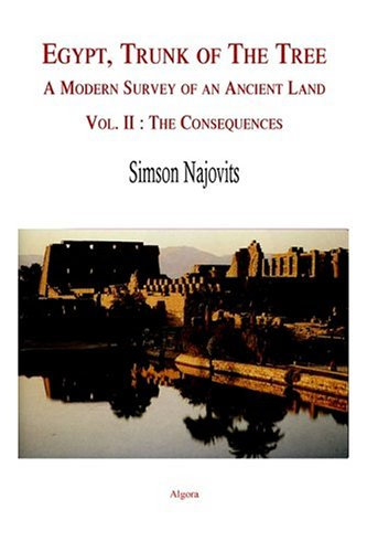 9780875862576: Egypt, Trunk of the Tree, Vol. 2: The Consequences