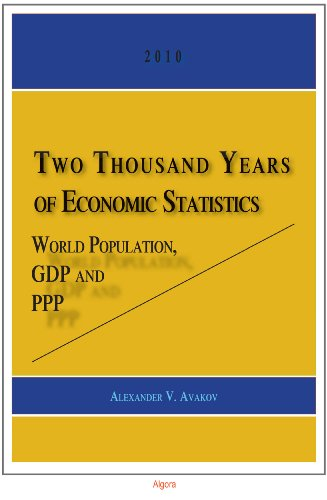 9780875867519: Two Thousand Years of Economic Statistics: World Population, G. D. P. and P. P. P.
