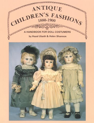Antyki i Sztuka Vtg Doll Pattern Little Girls Costume Hazel Ulseth Helen Shannon 14 16 inch NOS