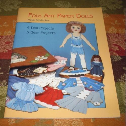 9780875883403: Folk Art Paper Dolls