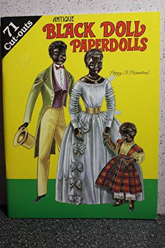 Antique Black Doll Paperdolls: Rosamond, Peggy Jo