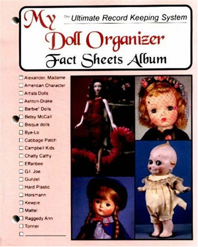 9780875885728: My Doll Organizer Fact Sheets Album
