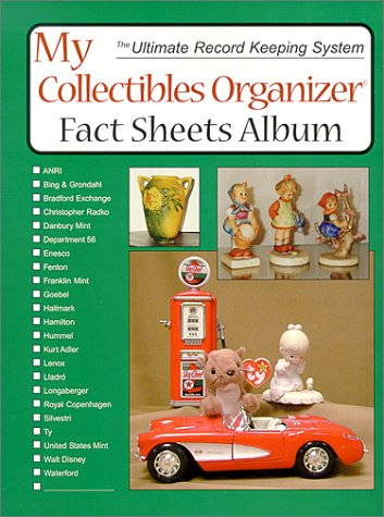 9780875885759: My Collectibles Organizer Fact Sheet Album (Ultimate Record Keeping System)