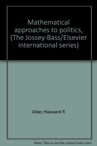 Mathematical Approaches to Politics