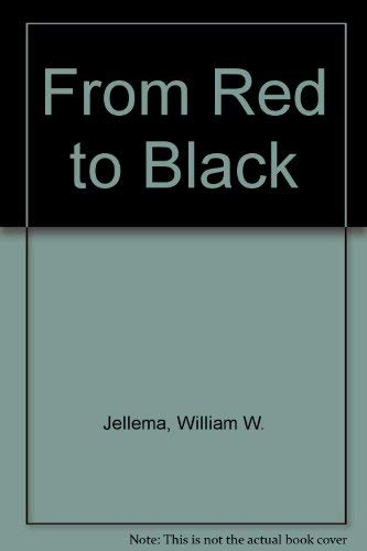 9780875891880: From Red to Black (The Jossey-Bass series in higher education)