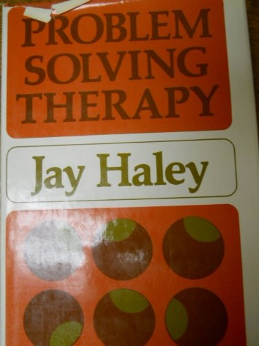 9780875893006: Problem-solving Therapy (The Jossey-Bass behavioral science series)