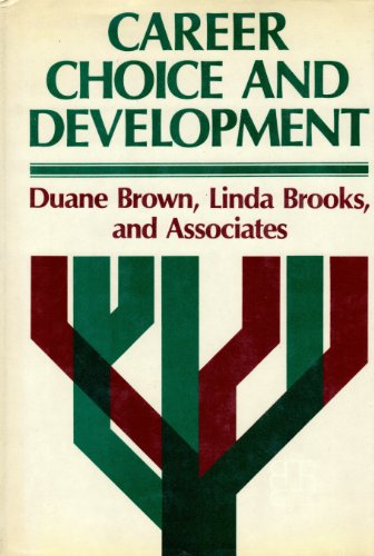 Career Choice and Development (Social & Behavioural Sciences): Duane Brown