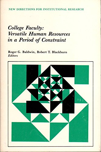 College Faculty : Versatile Human Resources in