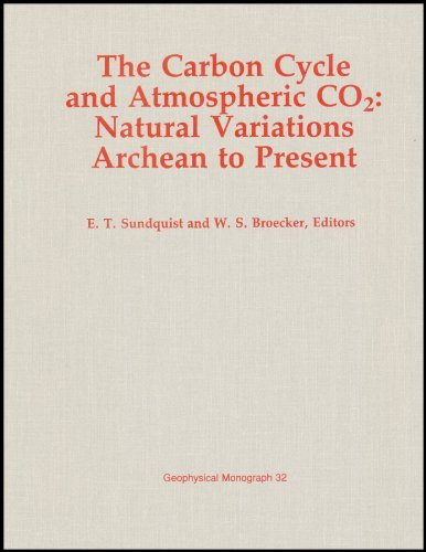 9780875900605: Carbon Cycle and Atmospheric CO2: Natural Variations, Archean to Present (Geophysical Monograph 32)