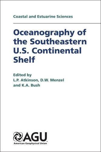 9780875902517: Oceanography of the Southeastern U.S. Continental Shelf (Coastal and Estuarine Sciences)