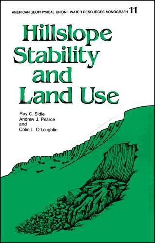 9780875903156: Hillslope Stability and Land Use (Water Resources Monograph)