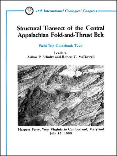 9780875906218: Structural Transect of the Central Appalachian Fold and Thrust Belt: Harpers Ferry, West Virginia to Cumberland, Maryland, July 15, 1989