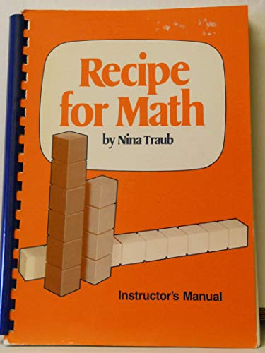 9780875942452: Recipe for Math Instructor's Manual